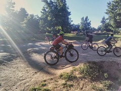 That time the #roughstufframble hit up the pump track at Ventura Park. #pumptrack #venturaparkpumptrack #pedalpalooza #pedalpalooza2017