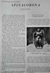 "My study: ""Fontane di Napoli / Spinacorona"", 1966"