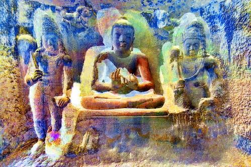 India - Maharashtra - Ajanta Caves - Cave 21 - 1bb