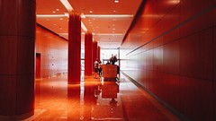Red lobby. #lgg5