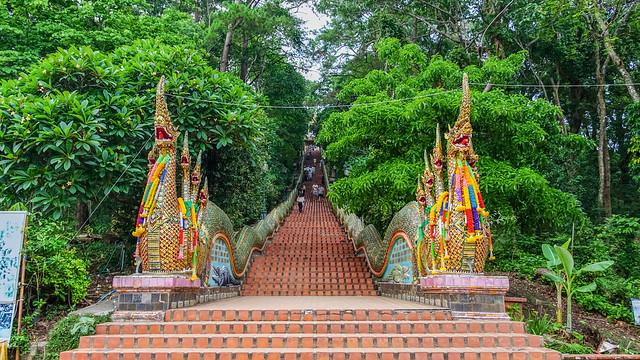 Thailand - Chiang Mai - Wat Phra That Doi Suthep