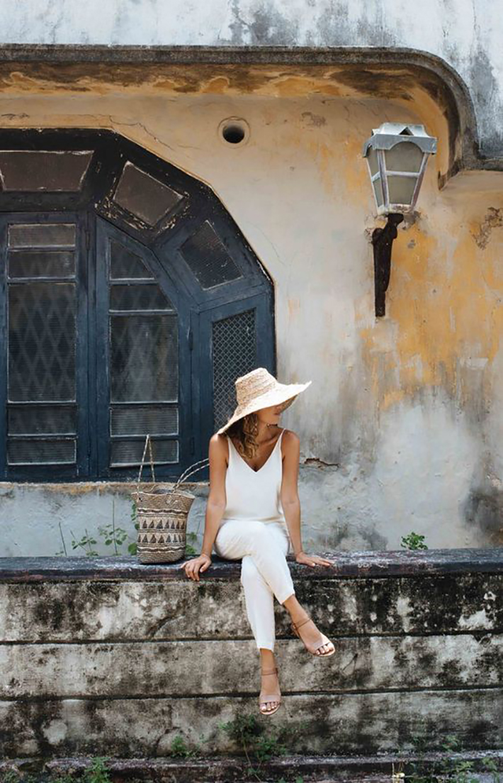 White outfits for summer 2017 street style outfits fashion trend accessories9
