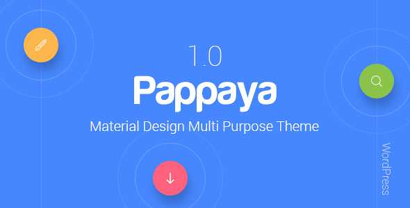 Pappaya WordPress Theme free download
