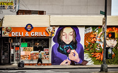 Street art in Brooklyn