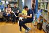 Concerto de Pablo Rubén Fernández na biblioteca Monte Alto.
