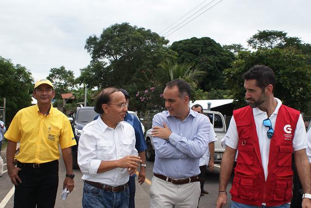 Entrega de Tramo Victoria - Caserío Santa Marta
