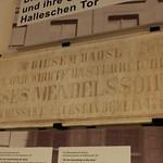 Die Gedenktafel für Moses Mendelssohn