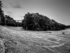 Members Banking and Finishing Straight - Brooklands Circuit