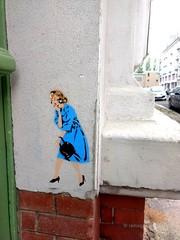 Leipzig Reudnitz - Stencil Streetart