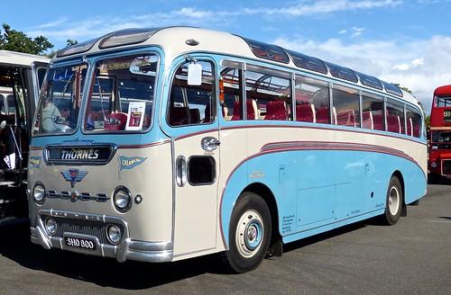 SHO 800 'Thornes' AEC Reliance / Duple Britannia on 'Dennis Basfords railsroadsrunways.blogspot.co.uk'