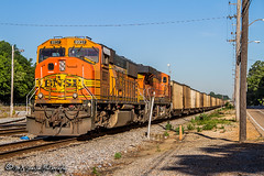 BNSF 8937 | EMD SD70MAC | NS Harris Yard