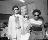 Stevie Wonder with Two Others