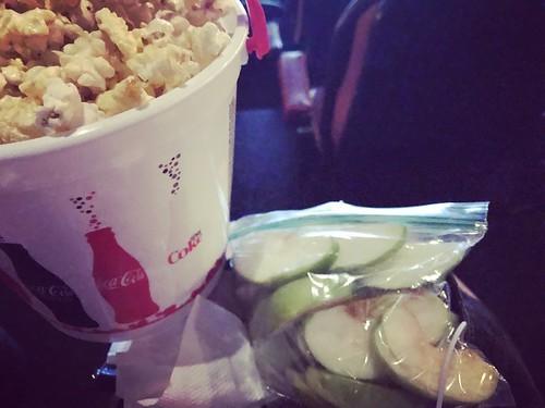 His & here movie snacks
