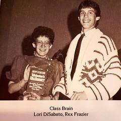 Thirty years ago, Eastmoor High School class of 1987. #tbt