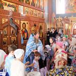 Празднование Владимирской иконы Божией Матери в храме преподобного Сергия Радонежского села Дивноморское