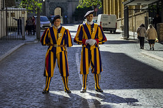 """Swiss Guard"" @ Vatican City"