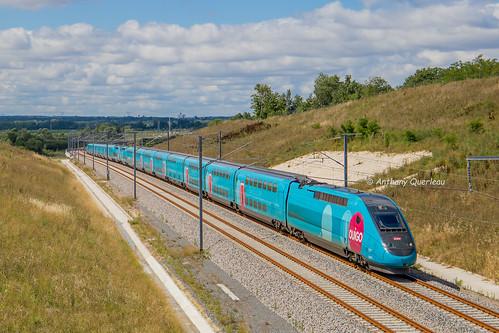 02 juillet 2017 TGV D 772-769 Train 7660 Bordeaux -> Roissy Cubzac-les-Ponts