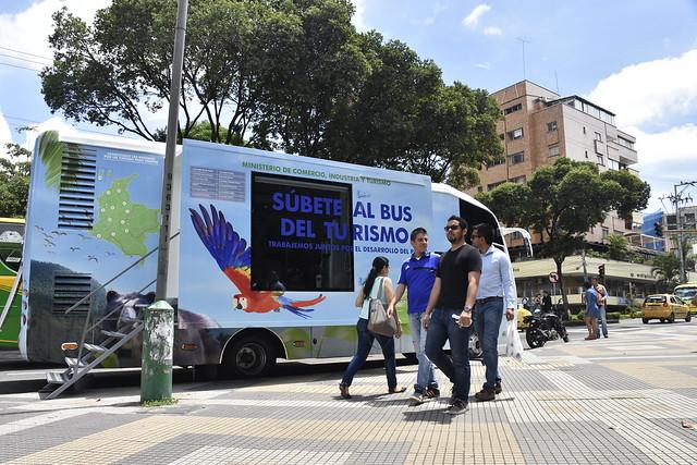 Súbete al Bus del Turismo Bucaramanga