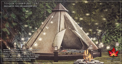 Trompe Loeil - Teigen Glamping Tent for Collabor88 July