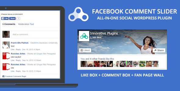 Facebook Comment Slider v1.8.5 for WordPress