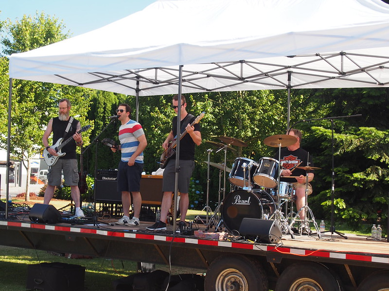 Live Performance at Arlington Street Fair