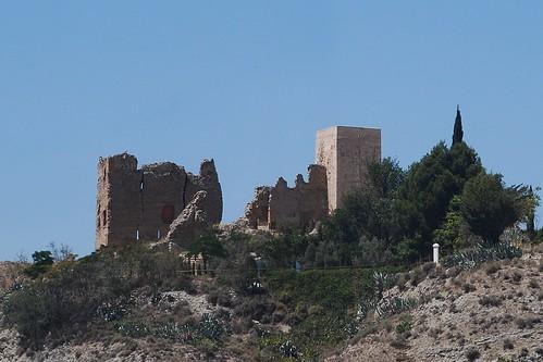 Castillo de los Cornel (Alfajarín, Aragón, España 13-7-2012)