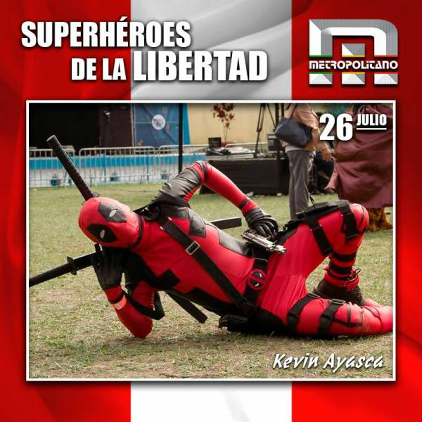 Superhéroes de la Libertad en elInstituto Metropolitano