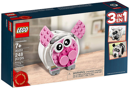 40251 Mini Piggy Bank 1