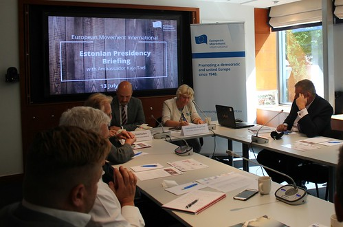 13.07.2017 Estonian Presidency Briefing with Ambassador Kaja Tael