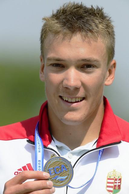 Kajak-kenu Eb - Kopasz Bálint bronzérmes K-1 1000 méteren