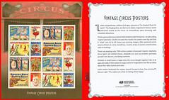 Circus Stamps, US Postal Service