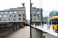 Bus stop in Copenhagen, Denmark