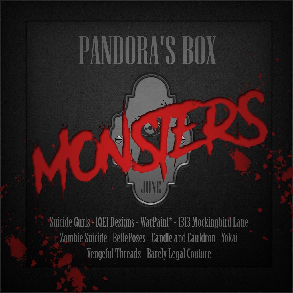 Pandora's Box - June Designers - SecondLifeHub.com