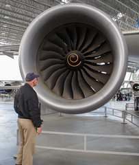 787 Dreamliner's enormous engines