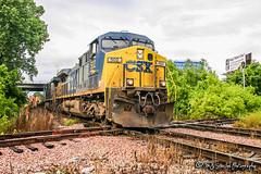 CSX 502 | GE AC4400CW | CN Fulton Subdivision