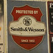 Smith & Wesson Advertising Sign - Texas