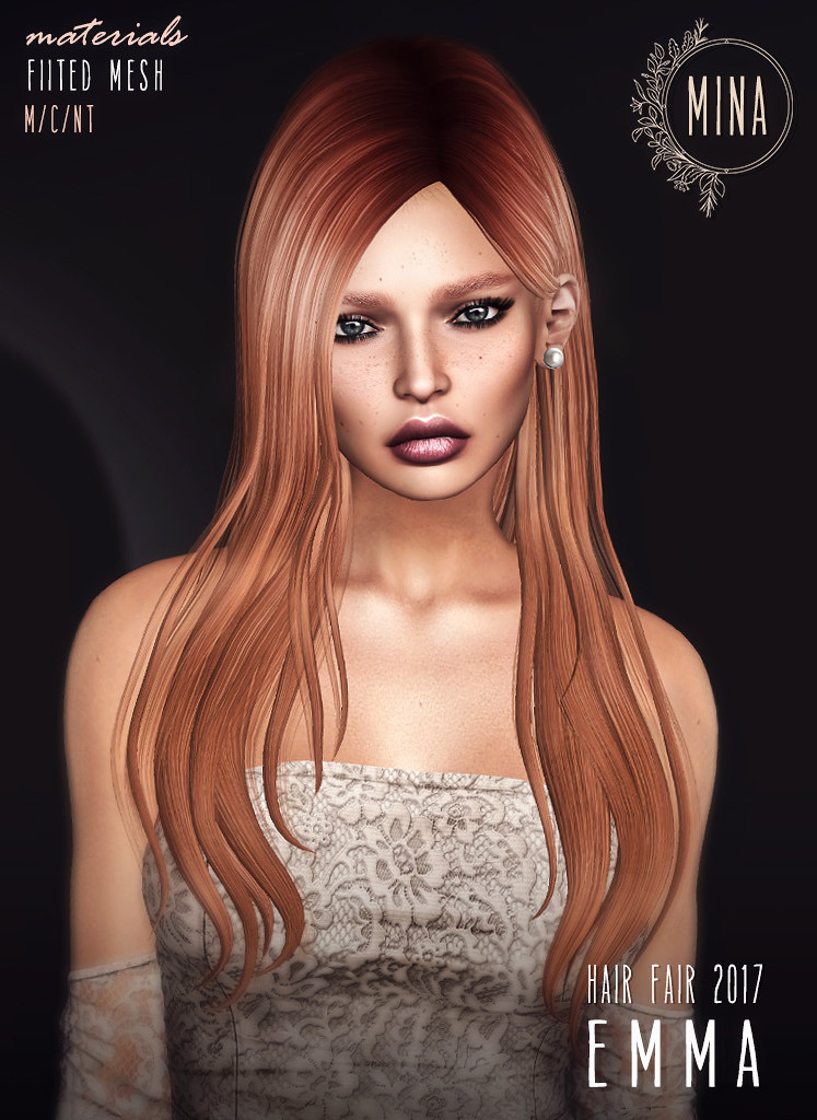 MINA Hair - Emma for Hair Fair 2017 - SecondLifeHub.com