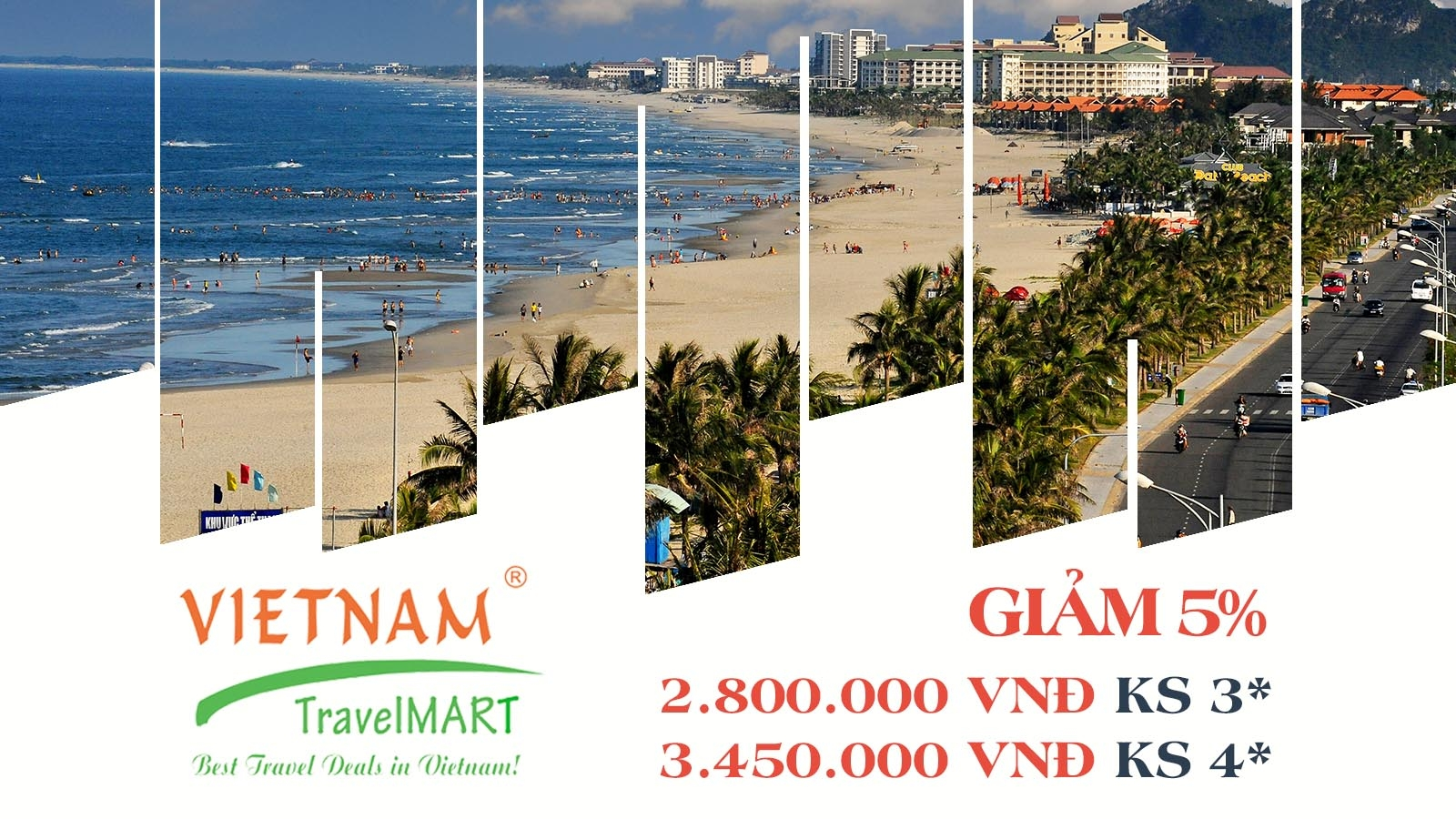 Vietnam TravelMART JSC | Giảm 5% Tour Thiên Đường Miền Trung 4N3Đ 1
