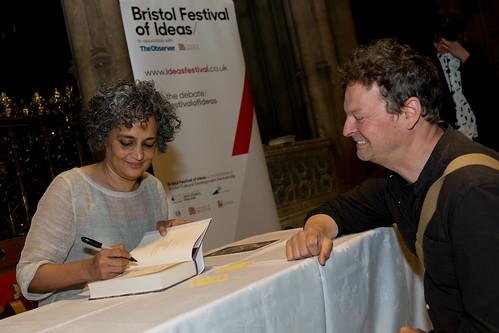 Arundhati Roy at Bristol Cathedral 7 June 2017