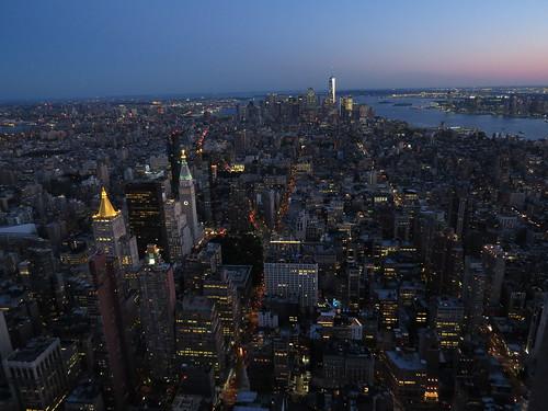 esb empirestatebuilding view aussicht newyork metropole
