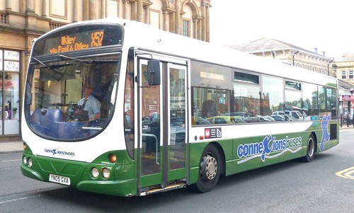 YN05 GXA 'Harrogate Coach Company' Scania L94 UB / Wright Solar on 'Dennis Basford's railsroadsrunways.blogspot.co.uk