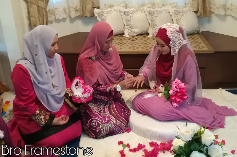 Majlis Pertunangan Adik Ipar di Mentakab, Pahang