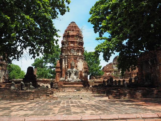 P6222660 ワット・マハータート(Wat Mahathat/วัดมหาธาตุ) アユタヤ タイ thailand 世界遺産