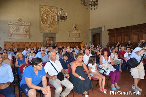 Il sindaco Alessandro Tomasi presenta la Giunta