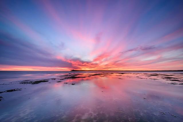 Wide angle sunset (EXLORE)