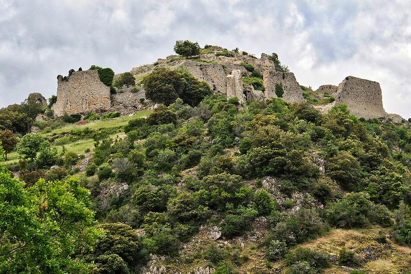 Termes Castle - Château de Termes (France)