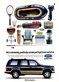 1991 Ford Explorer (Canadian Ad)