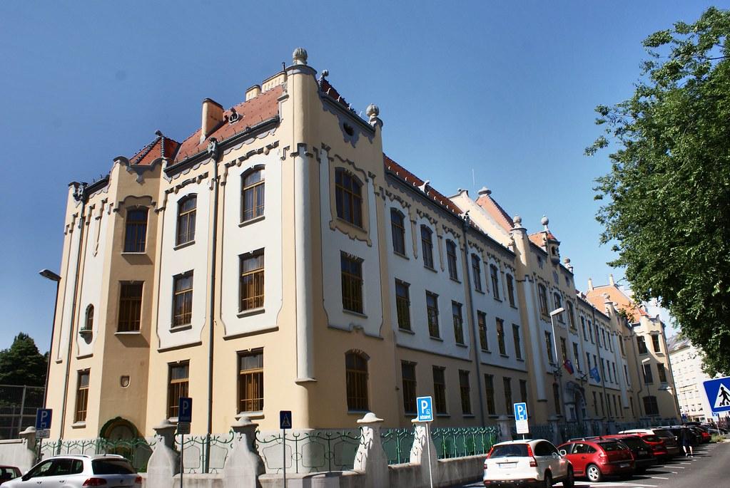 Architecture art nouveau à Bratislava.