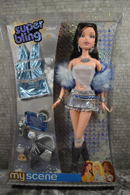 2005 Barbie My Scene Super Bling Nolee J1041 (2)