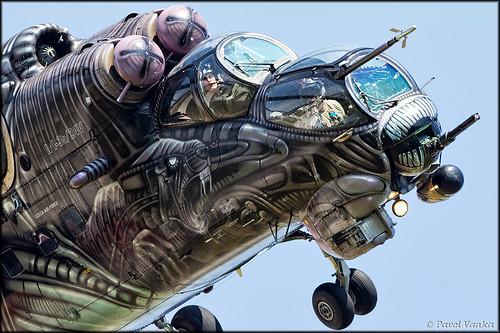 "Mil Mi-24V ""Alien Tiger"""